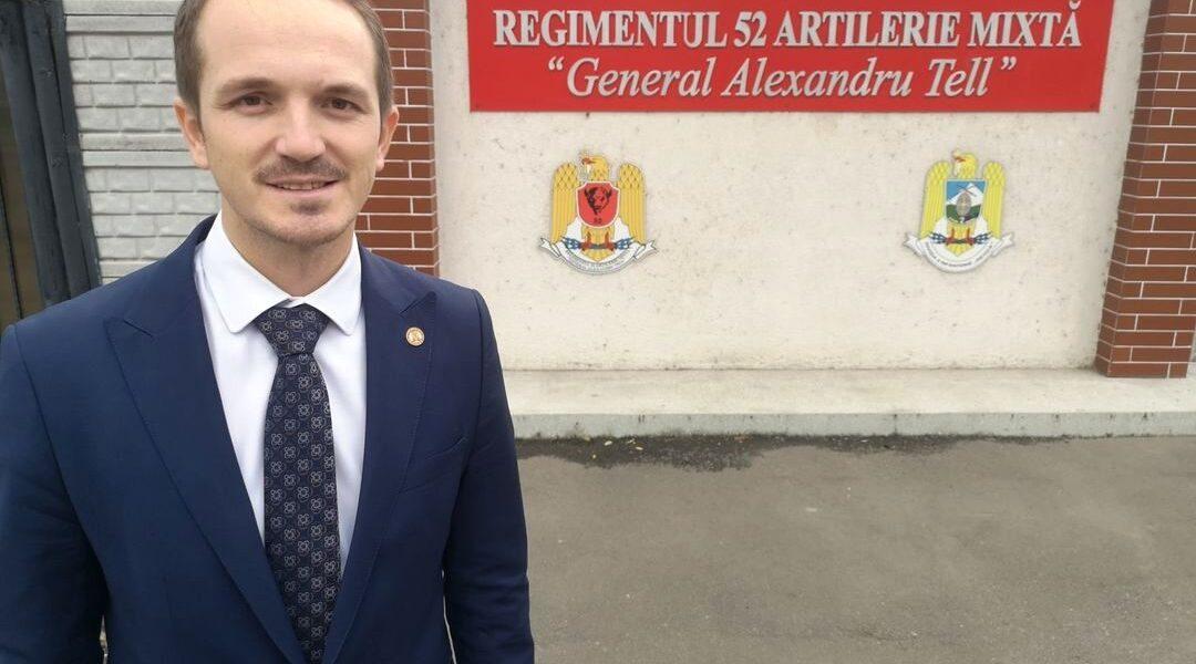 105 ani de tradiții militare sărbătoriți la Bârlad