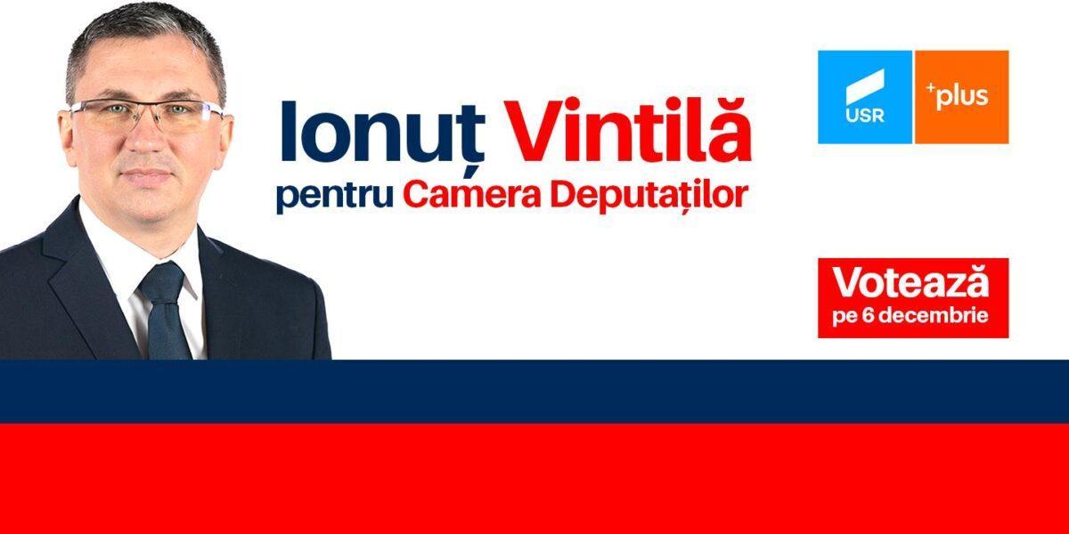 Ionut Vintila, candidat Camera Deputatilor din partea USR – PLUS Vaslui
