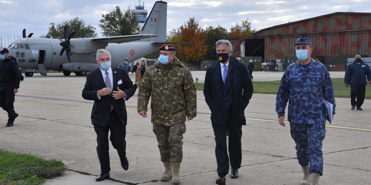 Secretarul Forțelor Navale SUA, la baza Mihail Kogălniceanu: Continuarea cooperării între forțele armate americane și române este importanta
