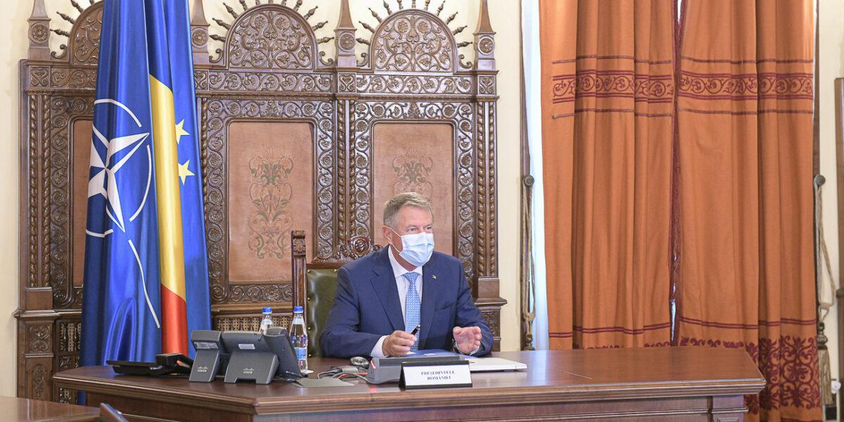 Klaus Iohannis a convocat CSAT-ul: Consiliul Suprem de Apărare a Țării se reunește pe 3 decembrie pentru a discuta Strategia de vaccinare anti-COVID-19