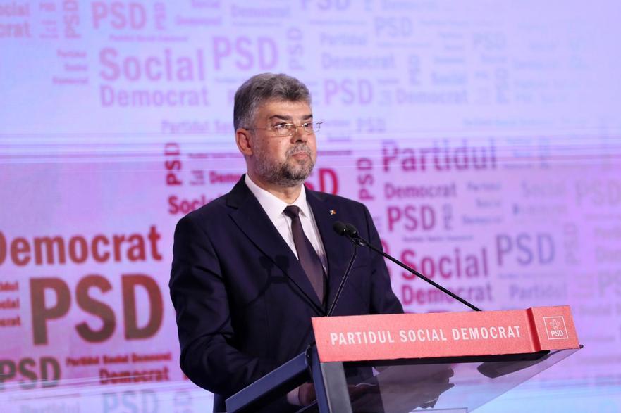 Marcel Ciolacu spune că e normal să comunice cu liderul AUR dar că nu are un plan comun cu acest partid. Totodată, avertizează că PSD poate bloca constituirea noului Parlament