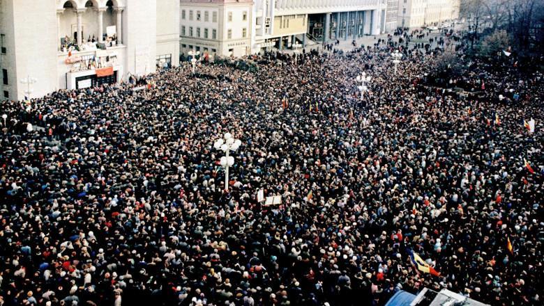 22 decembrie 1989. România scapă de dictatura comunistă
