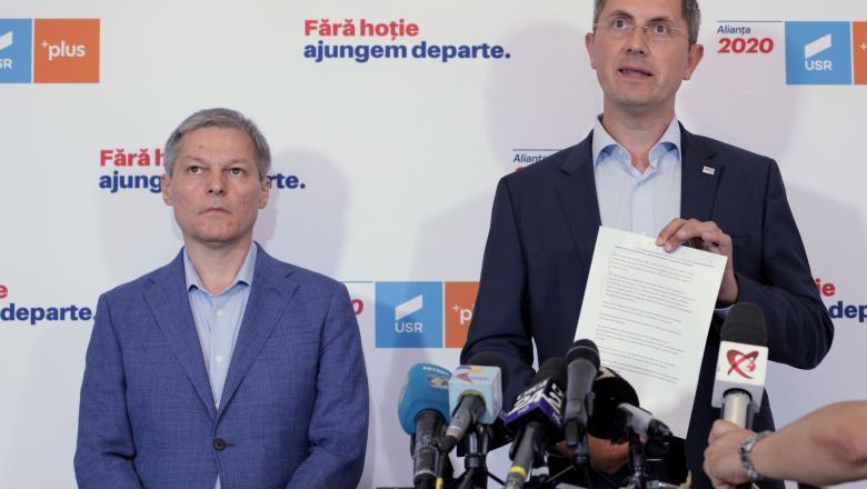 USR-PLUS cere ministere importante: Vrem să fim parteneri la guvernare nu partid ajutător