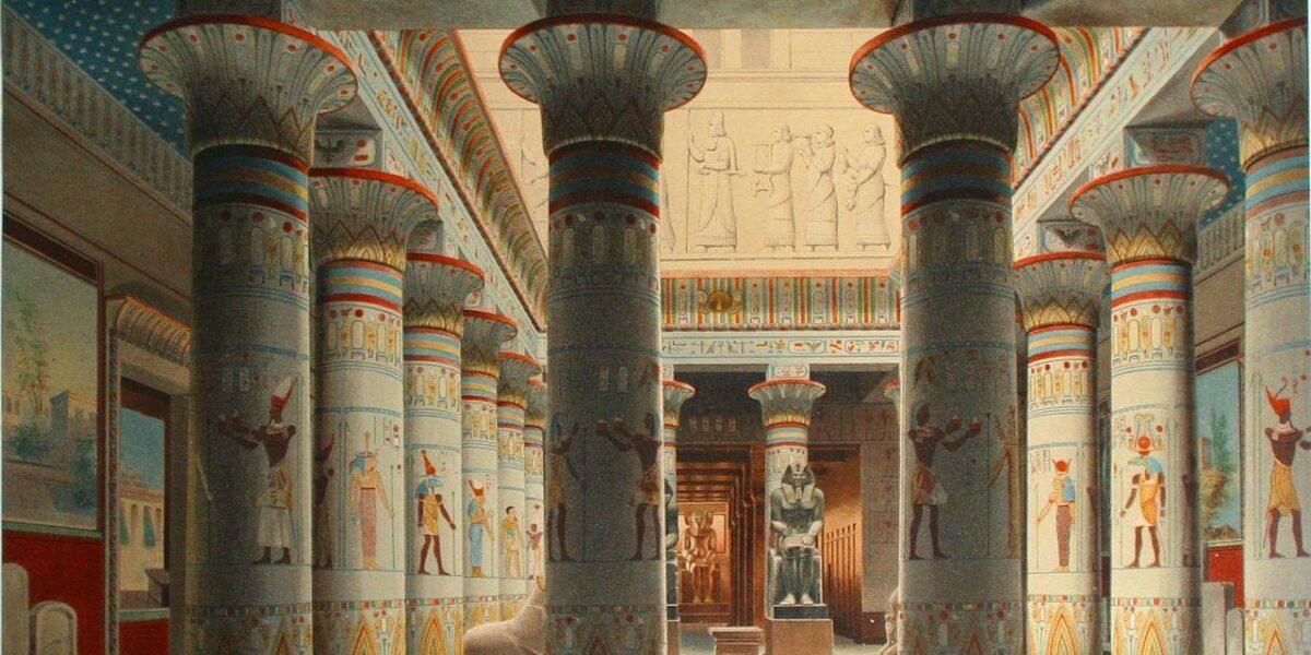 Templul egiptean – simbolism