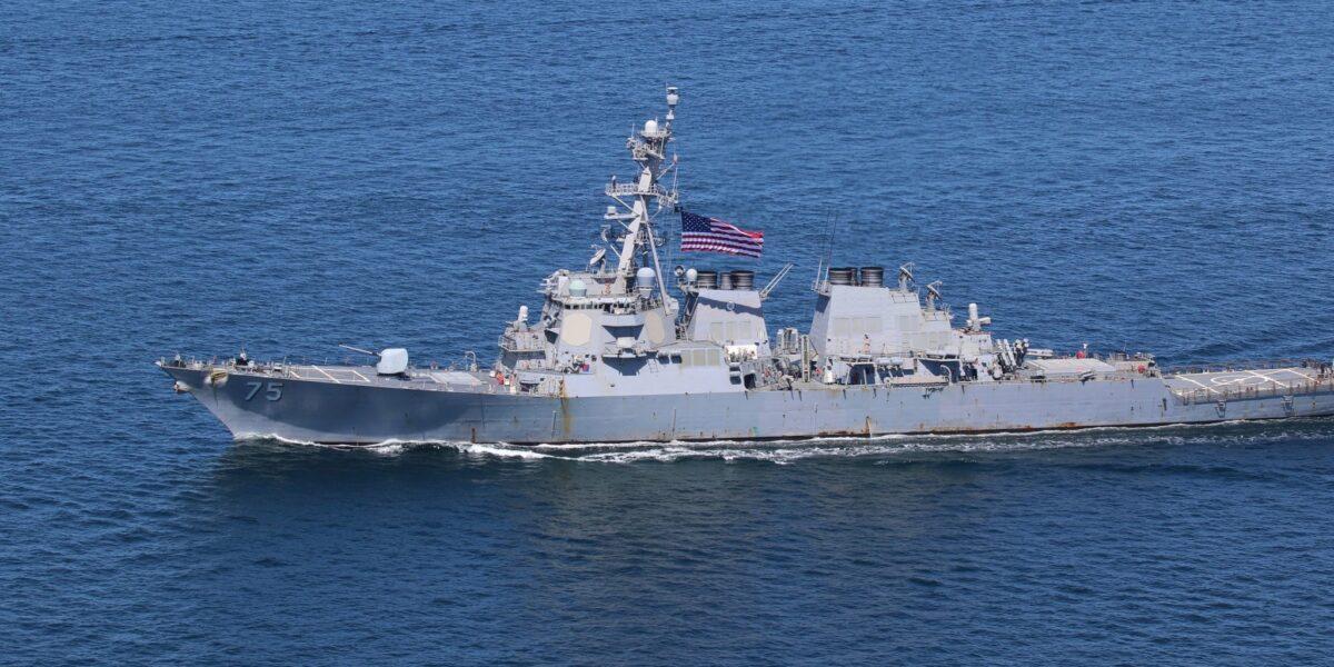"""Demonstrație de forțe NATO în apropierea României: Două distrugătoare SUA patrulează în Marea Neagră, definind-o """"o cale navigabilă critică pentru stabilitatea Europei"""