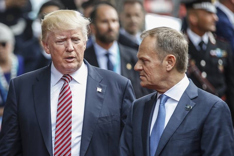 """Donald Tusk atenționează: """"Există câte un Trump peste tot, deci fiecare ar trebui să-și apere propriul Capitoliu"""""""