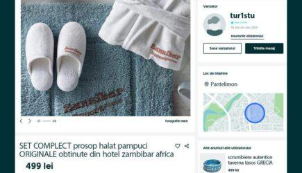 "Pe unde au umblat românii. Olx, plin de anunțuri ""Vând prosop din Zanzibar"""