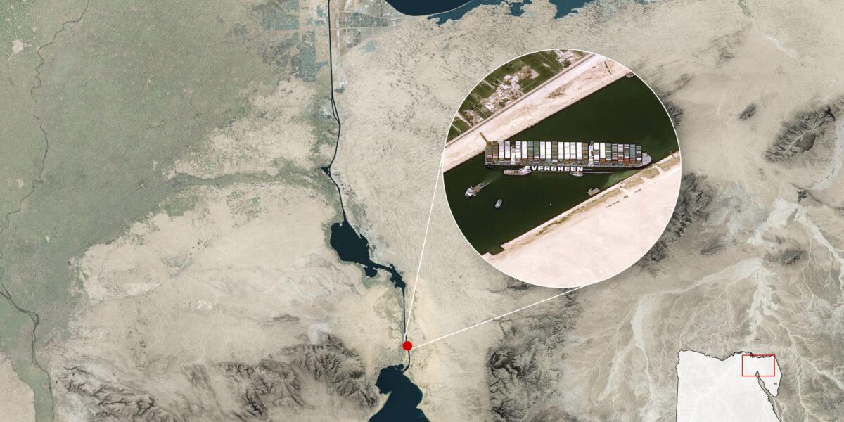 De ce Canalul Suez este atât de important?