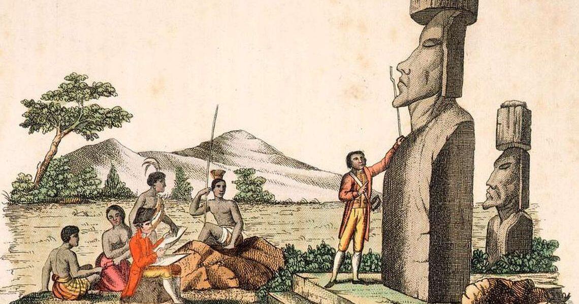 5 aprilie 1772 – Exploratorul olandez Jacob Roggeveen a descoperit Insula Paștelui