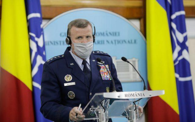 """Șeful forțelor americane în Europa: Probabilitatea unei invazii ruse în Ucraina este """"redusă"""""""