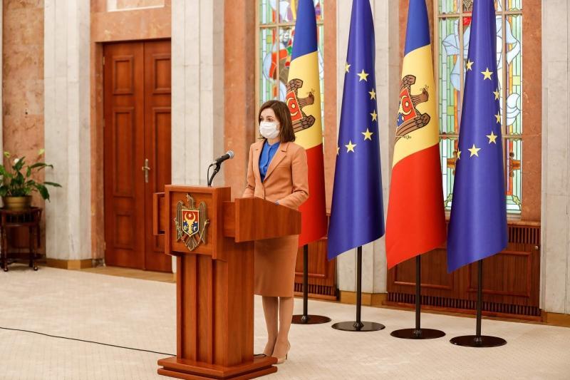 Președintele Maia Sandu a dizolvat Parlamentul Republicii Moldova și anunță că alegerile anticipate vor avea loc pe 11 iulie