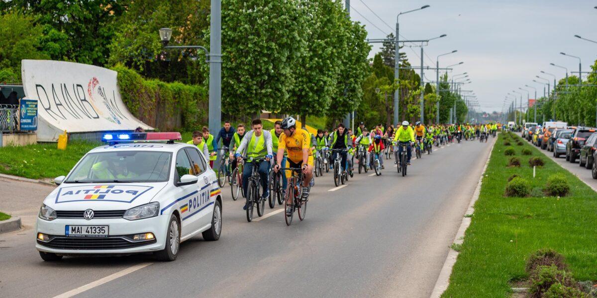 """""""Vasluiul pedalează"""" duminică de la ora 09:00. """"Hai cu noi și în 2021 la cel mai fain eveniment ciclist al anului!"""""""