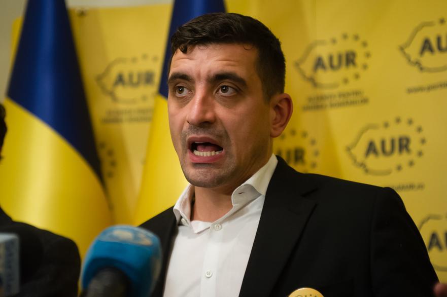 AUR trage tot mai aproape de PSD. Simion vrea front comun cu Ciolacu pentru suspendarea lui Iohannis
