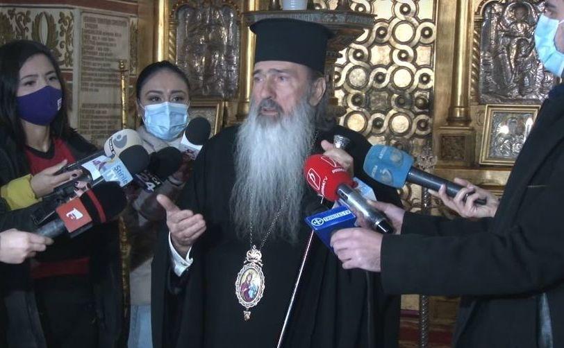 Război la vârful BOR. Teodosie, replică pentru Patriarh: Doar Dumnezeu poate să îmi dea sancţiuni