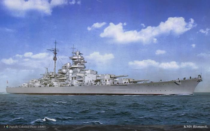 27 mai 1941 – Vasul german Bismarck a fost scufundat de britanici în Atlanticul de Nord