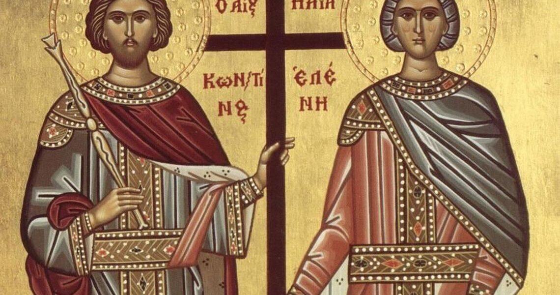 Cine au fost Constantin și Elena, sărbătoriți de Biserica Ortodoxă pe 21 mai ?