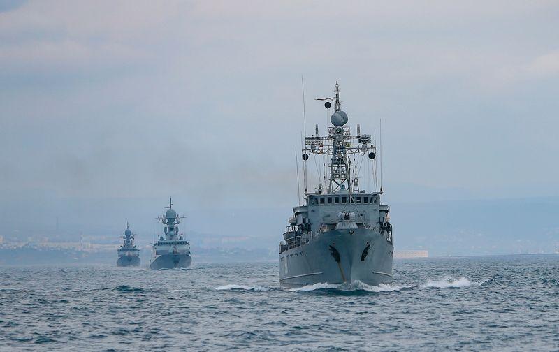 Marea Neagră se supraîncălzește militar. Rusia își justifică prezența prelungită arătând spre NATO