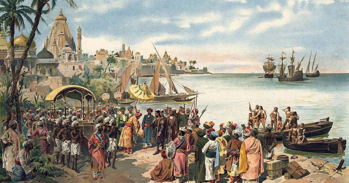 20 mai 1498 – Vasco da Gama a ajuns în India, deschizând un nou drum comercial între Vest și Est