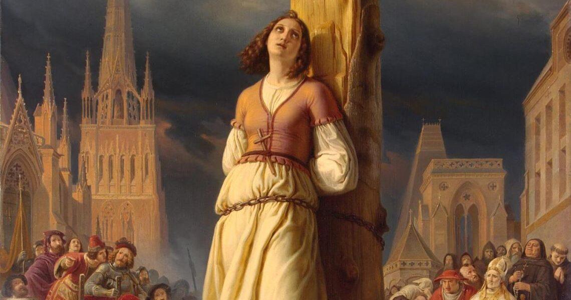 30 mai 1431 – Ioana d'Arc a fost arsă pe rug la Rouen
