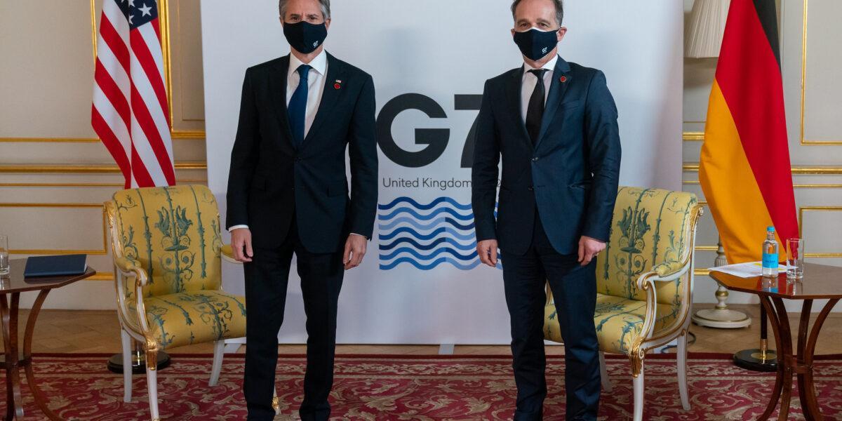 Șeful diplomației SUA, întâlniri cu omologii francez și german la Londra: Cooperarea transatlantică, esențială în fața acțiunilor destabilizatoare ale Rusiei și Chinei