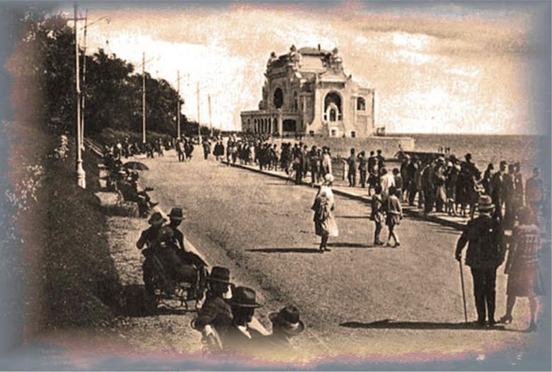 Plaja și Cazinoul din Constanţa, atracțiile protipendadei de altădată
