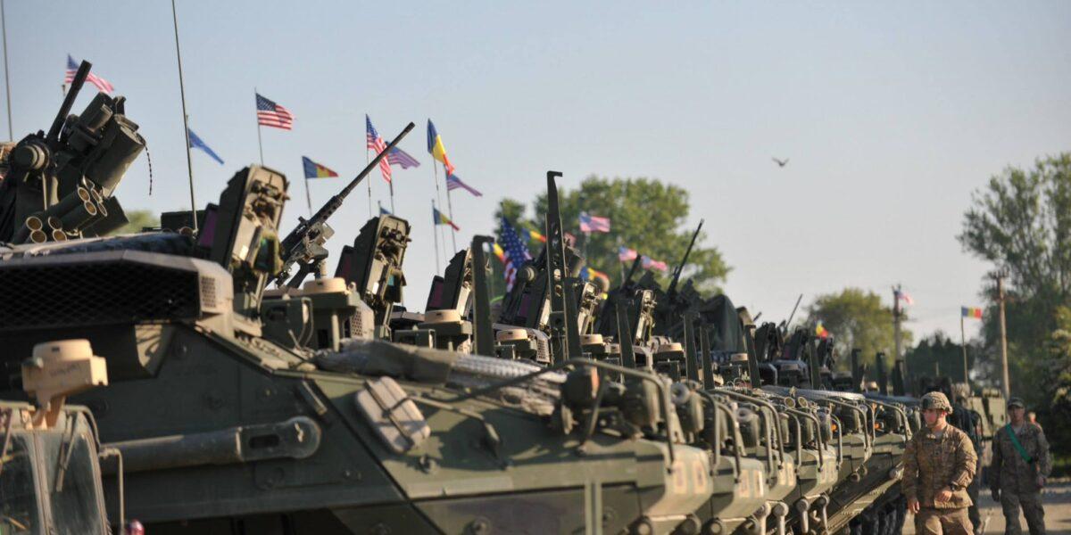 Opt convoaie militare ale Forței de Reacție Rapidă a NATO au intrat în România pentru exercițiul Noble Jump 2021
