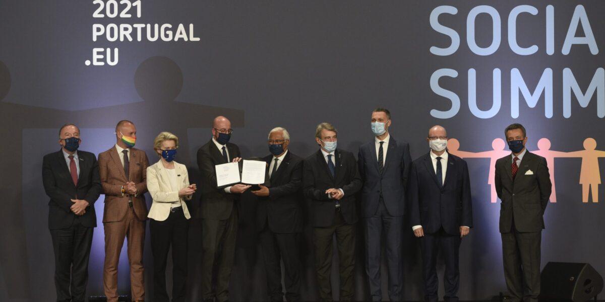 Liderii europeni au convenit, la Porto, cel mai mare angajament social din istoria UE: Până în 2030, 78% dintre europeni ar trebui să aibă un loc de muncă