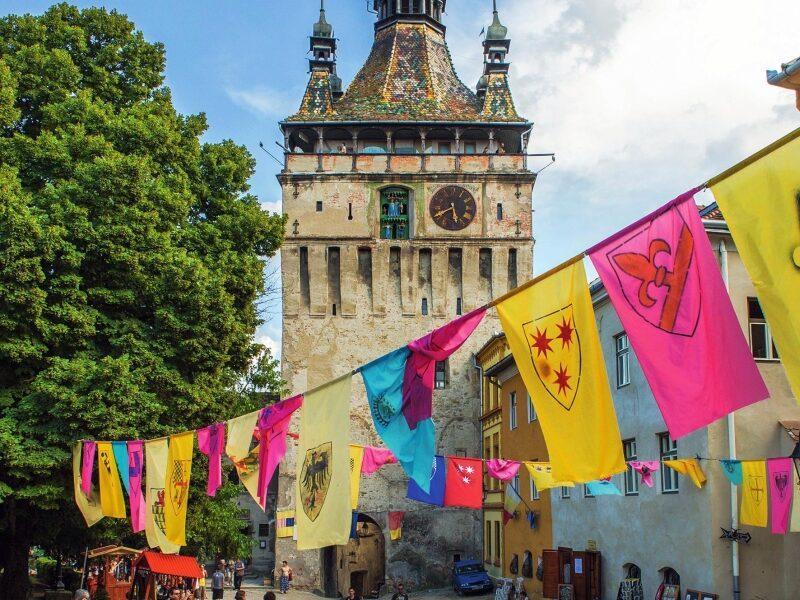 Turnul cu Ceas din Sighișoara, bătrânul care numără secundele istoriei
