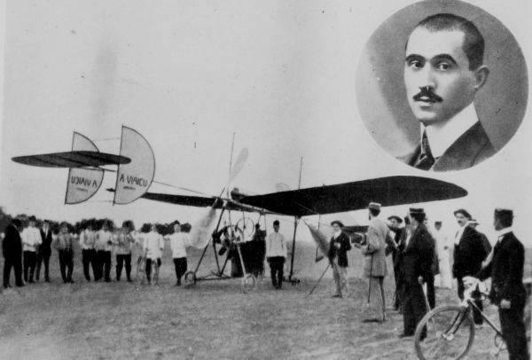 17 iunie 1910 – Primul zborul al unui avion conceput, realizat și pilotat în România de Aurel Vlaicu
