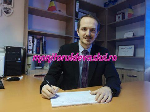 Mihai Botez, singurul parlamentar vasluian care își face publică activitatea