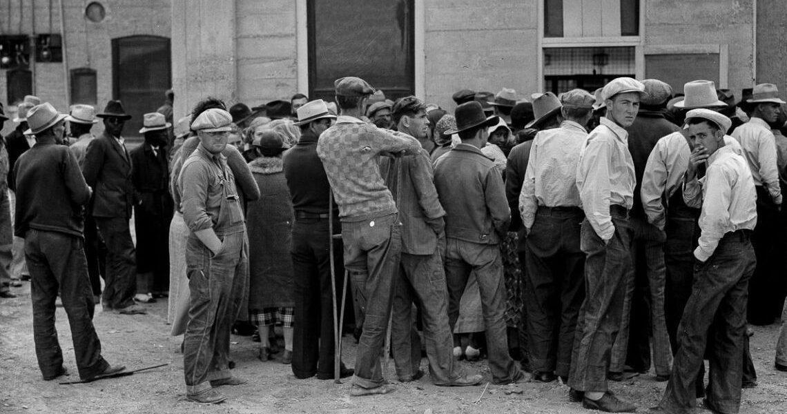 Marea criză economică: Sărăcia și șomajul în Statele Unite