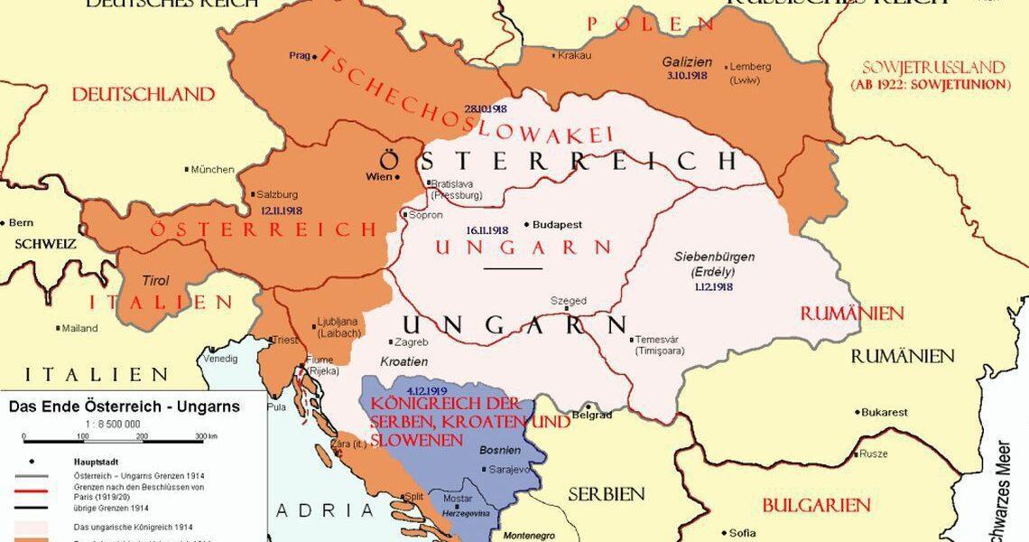 4 iunie 1920 – A fost semnat Tratatul de la Trianon