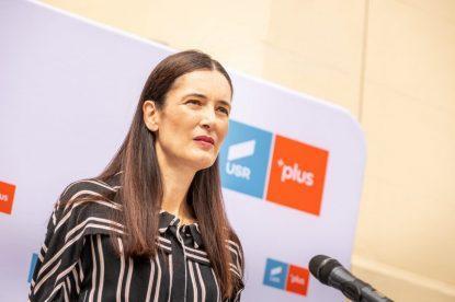 """Clotilde Armand a câștigat """"la mustață"""" alegerile pentru șefia USR-PLUS Sectorul 1, în fața lui Dragoș Pâslaru"""