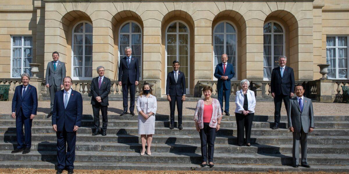 Miniștrii de finanțe G7 au ajuns la un acord istoric pentru un impozit global de minimum 15% pentru marile corporații