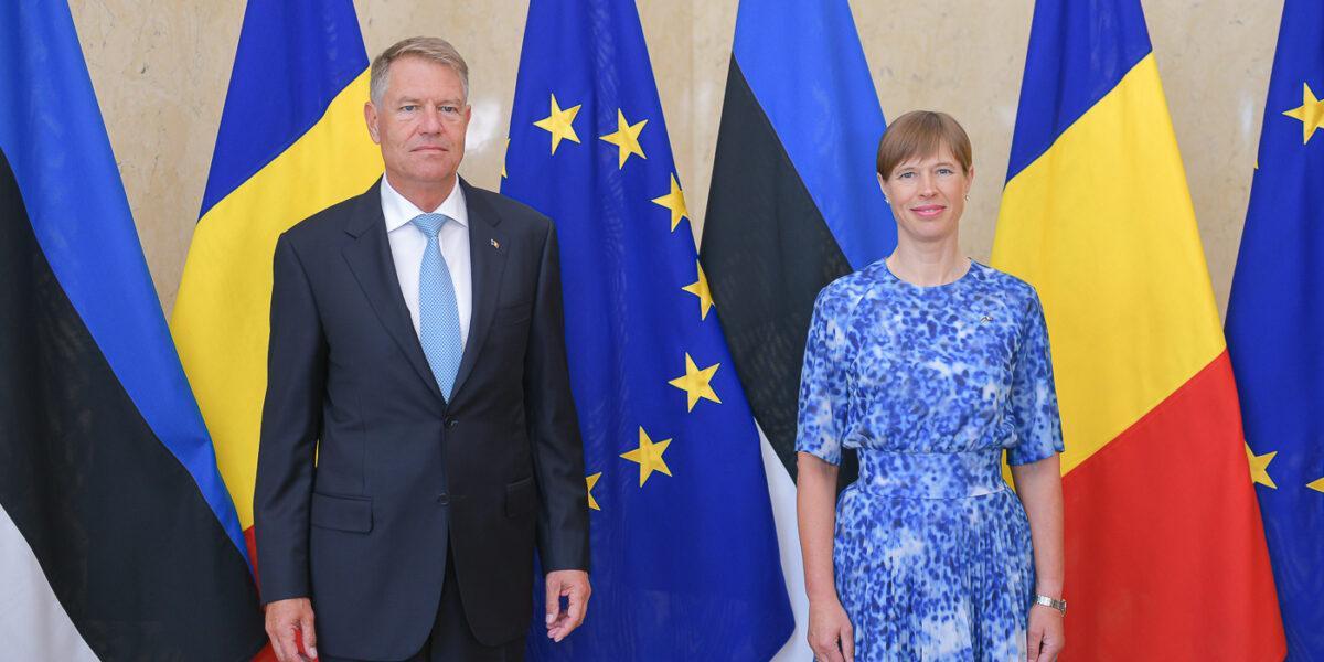 Klaus Iohannis, vizită de stat la Tallinn: Am invitat Estonia să participe la Centrul Euro-Atlantic pentru Reziliență de la București