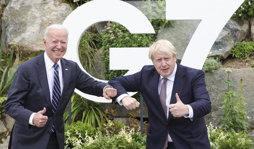 În ajunul summitului G7, Joe Biden și Boris Johnson au adoptat noua Cartă a Atlanticului, reînnoind angajamentul americano-britanic față de NATO și aliații democratici