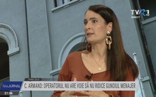 Clotilde Armand: O să susțin în continuare rezilierea contractului cu Romprest. Operatorul trebuie să ne dea acces la contabilitate pentru a putea stabili prețul corect, cu un profit rezonabil. Așa prevede contractul, pentru că este monopol