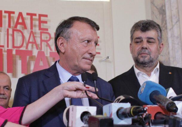 """Socrul Paul Stanescu: """"Romania are nevoie de o guvernare PSD. Sondajele ne arata ca romanii au din ce in ce mai putina incredere in acest guvern"""""""