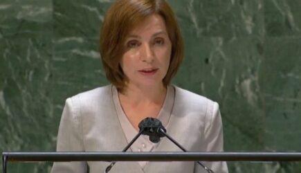 """Maia Sandu, discurs intr-o engleza perfecta de la tribuna ONU: """"Incepem sa curatam statul de coruptie. Escrocii ne-au folosit ca tara de tranzit pentru a spala bani, am reusit sa daramam aceste regimuri corupte"""""""