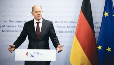 """Social-democratul Olaf Scholz promite că guvernul său va realiza o """"reorganizare industrială rapidă"""" pentru a garanta furnizarea energiei în Germania"""